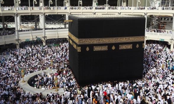 Gesù sta incontrando devoti musulmani durante l'Haj