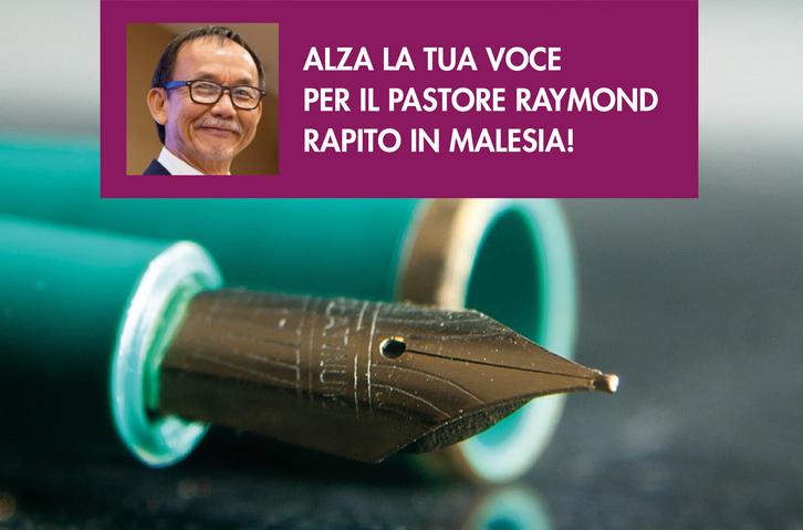 Malesia: petizione per il pastore Raymond Koh